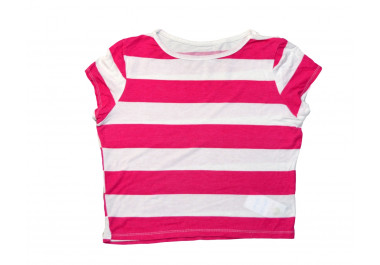 Pink csíkos póló