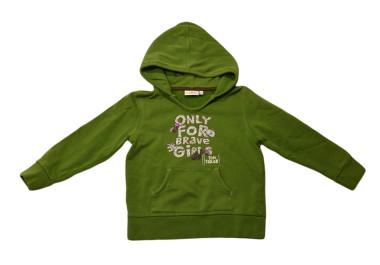 Zöld mókusos pulóver